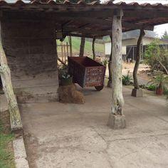 Costa Rican cart factory