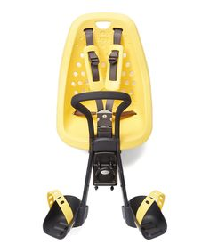 Yellow Mini Ahead Front Bicycle Child Seat