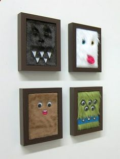 framed monsters