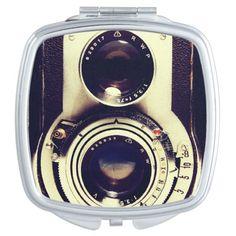 Vintage camera mirrors #mirror #vintagecamera #photography #zazzle