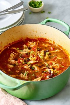 Recipe: Easy One-Pot Chicken Taco Soup — Quick and Easy Weeknight Dinners