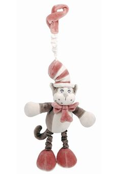 Dr. Seuss Natural Cat in the Hat Plush Stroller Toy $15.99