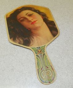 Vintage Ed Lenkensdofer City Cigar Store Hand Held Fan | eBay