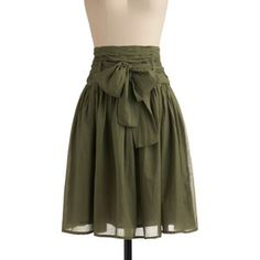 In Tandem Skirt in Olive