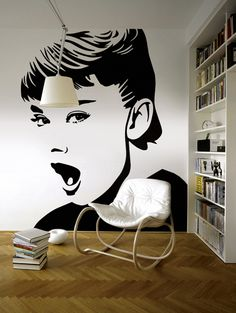 Audrey Hepburn Pop Art | All rights reserved | www.lobopopart.com.br