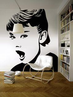 Audrey Hepburn Pop Art   All rights reserved   www.lobopopart.com.br