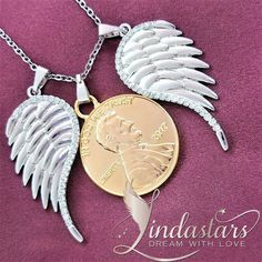 Angel Wings of Prosperity necklace will dive you into the deep end of spirituality and faith with its divine angelic design. Made by angels, accompanied by penny, this highly symbolic angel wing pendant will show her the depth of your inner soul and inner Being, the inner self within you which nobody can see. The truth of who and what you are!  https://www.lindastars.com/collections/together-for-ever-collection/products/black-charming-braided-angel-wing-bangle