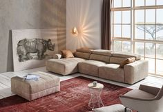 YAIZA sofa. Pedro Ortiz Sofas www.pedroortiz.com/en #furniture #interiordesign #interiors #homedecor #decor #style #contemporary #sofa #livingroom #livingroomideas #livingroomdecor Rustic Chic, Contemporary Furniture, Living Room Decor, Lounge, Couch, Interior Design, Armchairs, Modern, Interiors