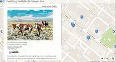 First Friday ArtWalk Old Colorado City 12/6/2014  http://www.heganoo.com/node/11830  #eventmap #colorado #art #tourism