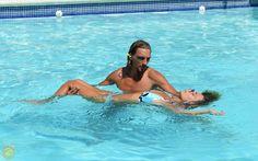 Alex doing water dance