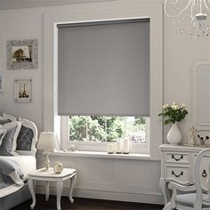 Damask Classic Silver Gray Patterned Custom Made Printed