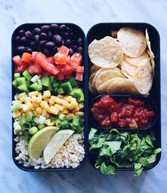 Nacho lunch box