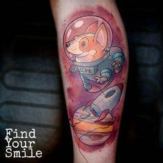 Biomech colour dragon full sleeve tattoo tattoos that for Kati vaughn tattoo