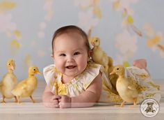 Ducks! Need to get a photo like this with baby Ava!!