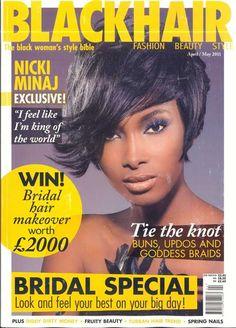 Black Hair Magazine, King Of The World, Goddess Braids, Black Women Fashion, Tie The Knots, Nicki Minaj, Updos, Bridal Hair, Wedding Hairstyles