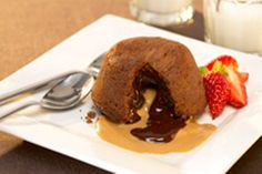 Dig into a rich and delicious chocolate cake - these ones come with a saucy…