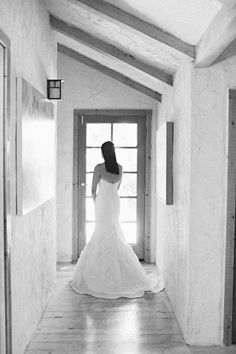 Classic strapless wedding dress by NYC bridal gown designer Selia Yang