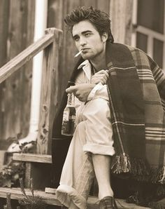 robert pattinson - it's a good thing my bad boy phase is over, because this would have been some serious kryptonite!