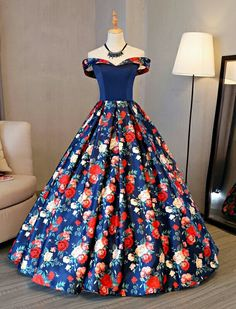 Cheap new quinceanera dress, Buy Quality dresses for 15 directly from China sweet 16 dresses Suppliers: Fashion New Quinceanera Dresses Sweet 16 Dresses for 15 years Ball Gown Floral Cheap Quinceanera Gowns Sale vestidos de 15 anos Prom Dresses 2017, Quinceanera Dresses, Formal Dresses, Evening Party Gowns, Evening Dresses, Dress Outfits, Fashion Dresses, Beautiful Gowns, Pretty Dresses