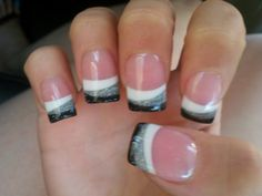 french nails art Lines Get Nails, Love Nails, How To Do Nails, Pretty Nails, Prom Nails, Gorgeous Nails, Wedding Nails, Nail Designs 2014, Cute Nail Designs