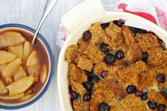 From our blog: What the French, toast? Try this delicious Blueberry French Toast Casserole With Apple Compote for Phase 1. It's the perfect morning pick-me-up, and will boost your adrenals in a snap!