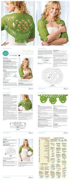 How To Crochet Kerry Shrug