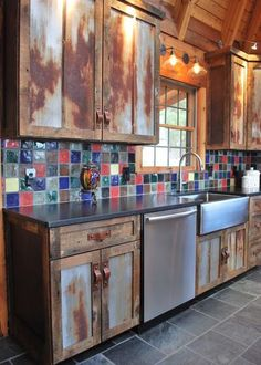Rustic Kitchen Home