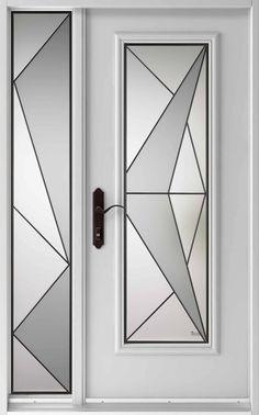 Vitraux - Portes extérieures- Denis Gagnon - Six Quatre Quatre #644