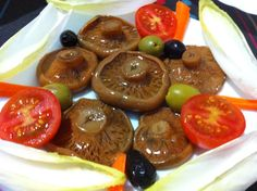 Amanida de rovellons en vinagre