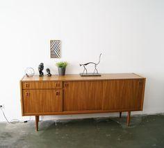 Vintage Kommoden - 60er Jahre Sideboard, Teak - ein Designerstück von mele-pele bei DaWanda