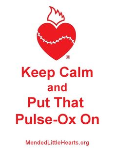 Pulse Ox Screening saves precious lives!  Make it mandatory in every state!!  This test detects serious Congenital Heart Defects in newborns. My daughter had one taped to her toe continuously, every time she was in the hospital.