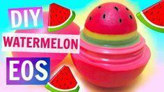 Watermelon EOS | DIY EOS Lip Balm