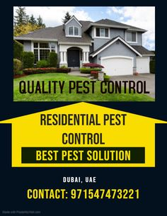 QPC is the Best Pest Control in Sharjah. Pest control services are effective to eliminate the growth of pests and make your place hygienic more. Best Pest Control, Pest Control Services, Sharjah, Dubai