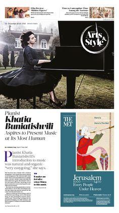Pianist Khatia Buniatishvili Aspires to Present Music at Its Most Human|Epoch Times #Arts #Pianist #KhatiaBuniatishvili #newspaper #editorialdesign