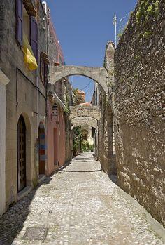Imagen Gratis En Pixabay   Rhodes, Grecia, Ciudad, Edificios