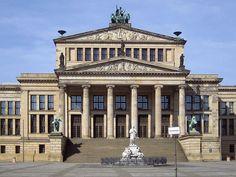 Schauspielhaus (Berlin 1818-21) - Karl Friedrich Schinkel