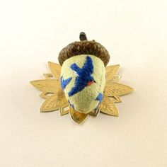 2014 OOAK Janie Comito ~ June Bluebirds  ~   Acorn Emery