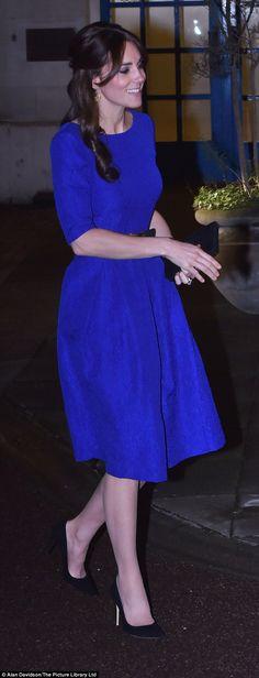 Martine Crinkle-Effect dress by Saloni, McQueen Belt, Mulberry Clutch, Gianvito Rossi Suede Pumps, Catherine Zoraida Hoop Earrings