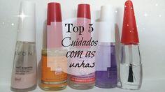 Top 5 Cuidados com as unhas