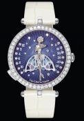 Lady Arpels Ballerine Enchantée - White Gold - Diamonds - Alligator Strap - Van Cleef & Arpels