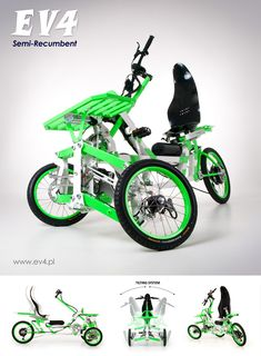The new Semi-Recumbent is now available for pre-order! Electric Tricycle, Electric Scooter, Electric Vehicle, Eletric Bike, Three Wheel Bicycle, Best Electric Bikes, Bike Suit, Reverse Trike, Bicycle Brands