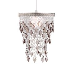 Wilko brass beaded pendant mocha ideas for my castle shop light shades at wilko find a wide selection of great value pendant light shades in our lighting range mozeypictures Choice Image