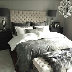 coloring for master - looks like our room Dream Rooms, Dream Bedroom, Home Bedroom, Bedroom Decor, Master Bedroom, Bedroom Inspo, Bedroom Ideas, My New Room, Beautiful Bedrooms