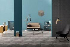 Da Lea ceramiche, pavimenti in gres porcellanato con formati componibili, per iottene svariati temi decorativi. Realprogetti sas è rivenditore ceramica Lea a Roma