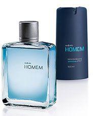 Presente Natura Homem - Desodorante Spray + Desodorante Colônia