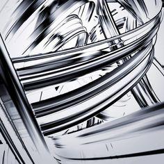 Modern ArtBuyer: Halcyon / Silver Solar by Chuck Elliott