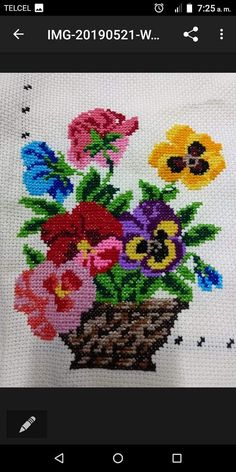 Cross Stitch Embroidery, Embroidery Patterns, Needlepoint, Flowers, Crafts, Vintage, Perfect Love, Knitting And Crocheting, Tricot