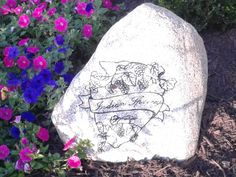 Indian Spring Winery Logo Rock. Photo by Trish Breedlove