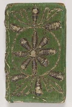 Embroidered Binding ~ The Book of Psalms ~ Translated into English by T. Sternhold, J. Hopkins, et al ~ London Company of Stationers ~ 1634