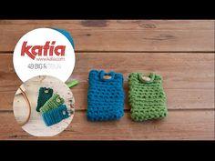 DIY Big Ribbon: Funda móvil ganchillo · Cell phone crochet cover
